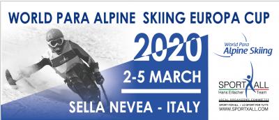 Finale di Coppa Europa Sci Alpino Paralimpico 2020